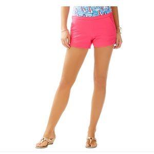 Lilly Pulitzer Adie Hot Pink Shorts Sz 0